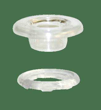 Ollaos y Arandelas Transparentes 16mm