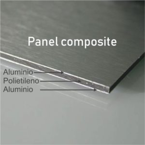 Panel de Aluminio 3mm/0.30mm