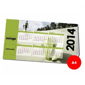 Calendario Pirámide (A4)