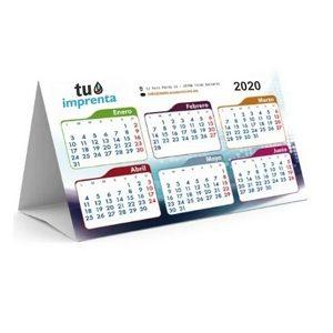calendario en piramide a4