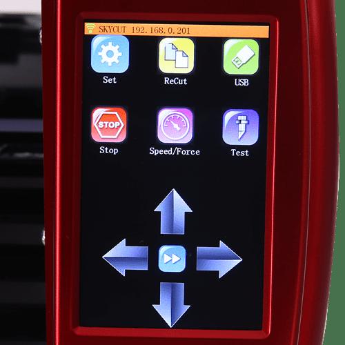 panel de control sencillo y visual d610