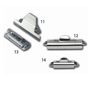 Pinzas metálicas para tablero