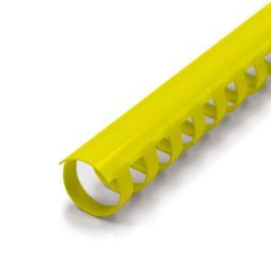 canutillo plastico amarillo