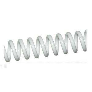 Espiral De Plástico Blanco Paso 64