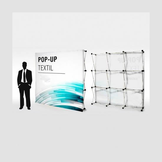 pop up textil merkaprinter