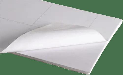 Cartón Pluma 5mm Adhesivo