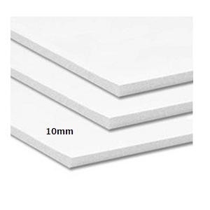 Cartón Pluma 10mm Adhesivo