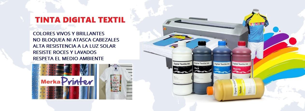 Tinta para Plotter DTG Textil