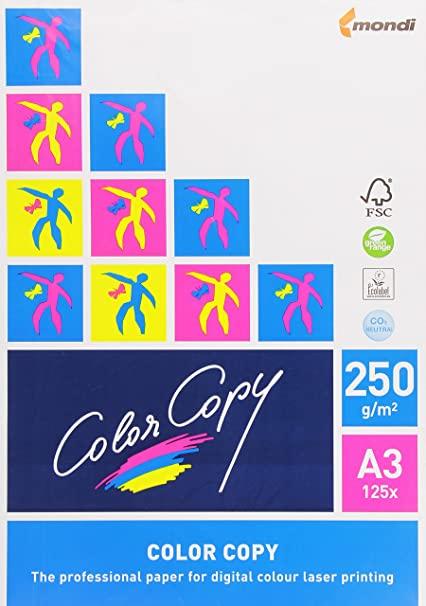Papel color copy a3