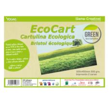 Cartulina Ecológica ECOCART El aspecto novedoso de Ecocart es un material que está fabricado con un 50% de fibra fresca procedente de hierba secada al sol