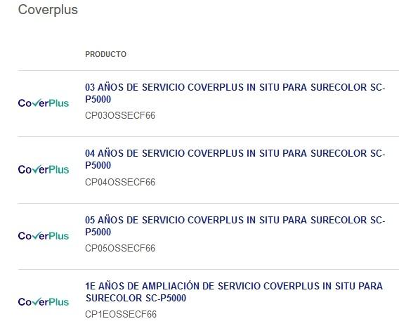 coverplus surecolor p5000