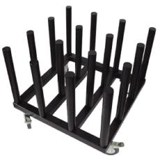 Bastidor Rack Mobile K16 Negro